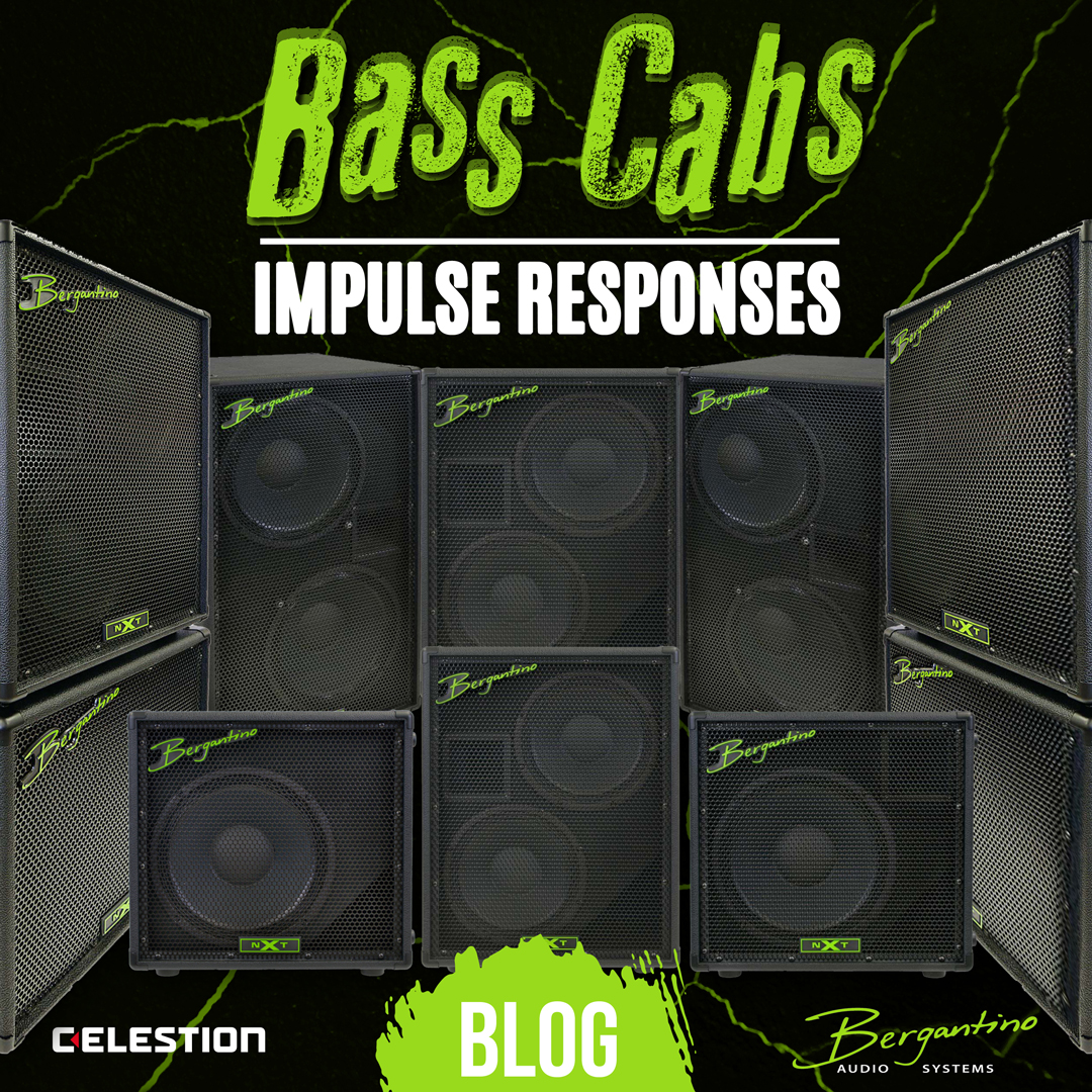 Something New and Special for Bassists… Bergantino Bass Cab IRs!