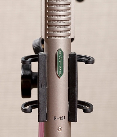 Royer R-21 microphone used to record the Celestion impulse response range