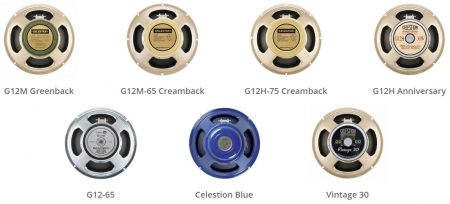 Celestion Impulse Responses – Speaker Range