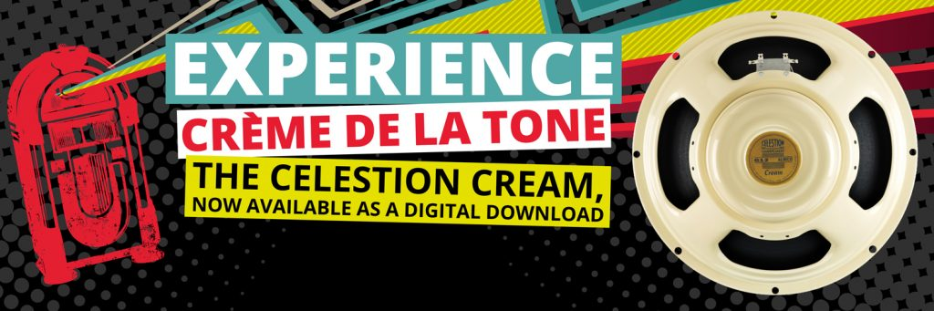 new celestion cream ir experience cr me de la tone. Black Bedroom Furniture Sets. Home Design Ideas