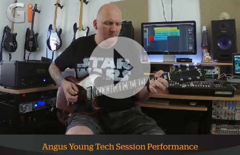 Celestion Vintage 30 IR Download in Angus Young Tech Session