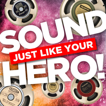Celestion impulse response library, guitar heroes