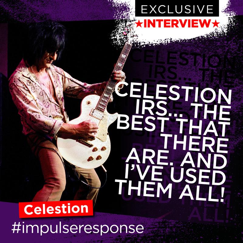 Steve Stevens, Celestion impulse responses