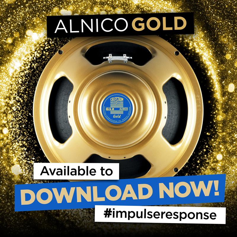 Celestion Alnico Gold, impulse response