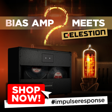 Celestion IR Library Included with New BIAS AMP 2 Elite