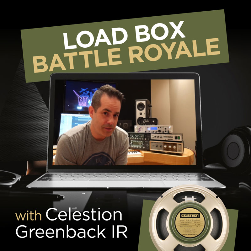 Load Box Shootout with Celestion Greenback IR