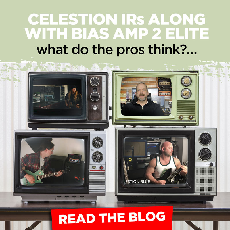 BIAS AMP 2 with Celestion IRs – What do the Pros Think?
