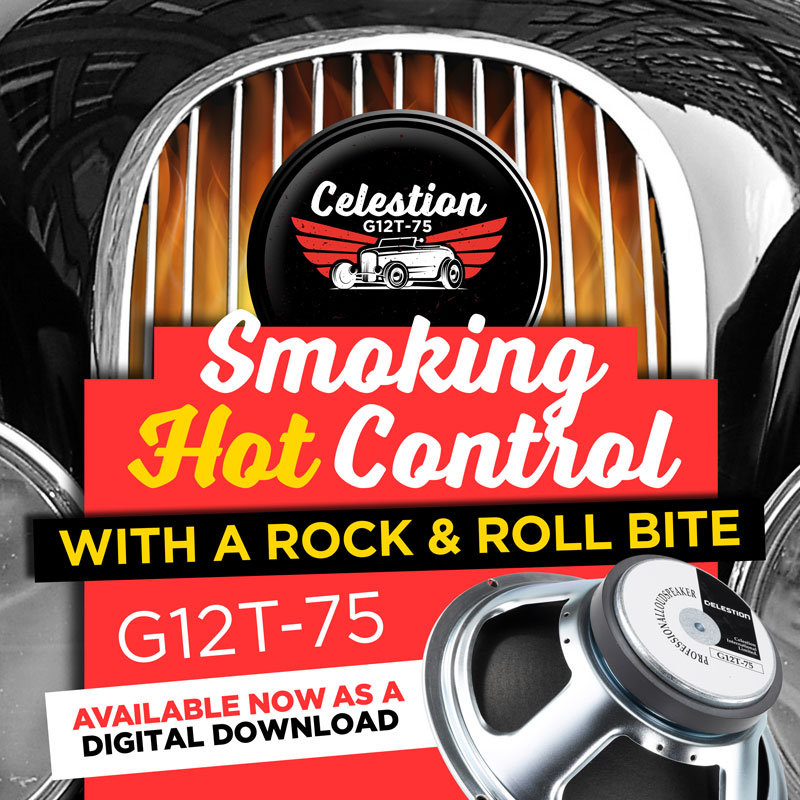 Celestion G12T-75 Speaker IR – High Gain Clarity and Control