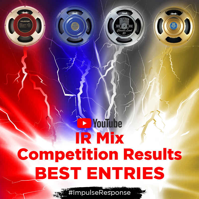 Celestion Speaker IR Mix Contest – The Winners!