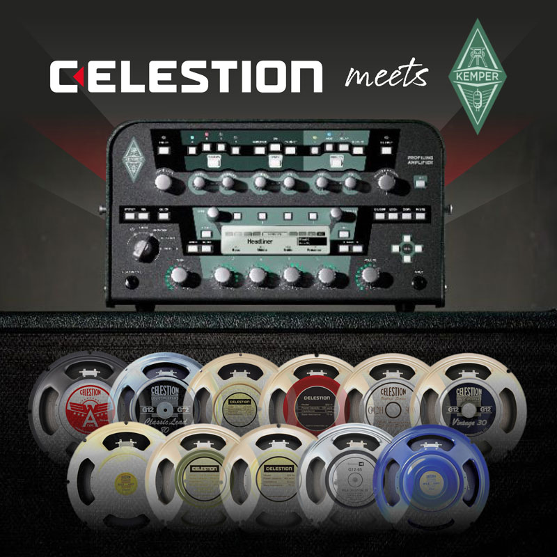 18 Celestion IRs Included Free with Kemper Profiler OS 5.5.2 Update