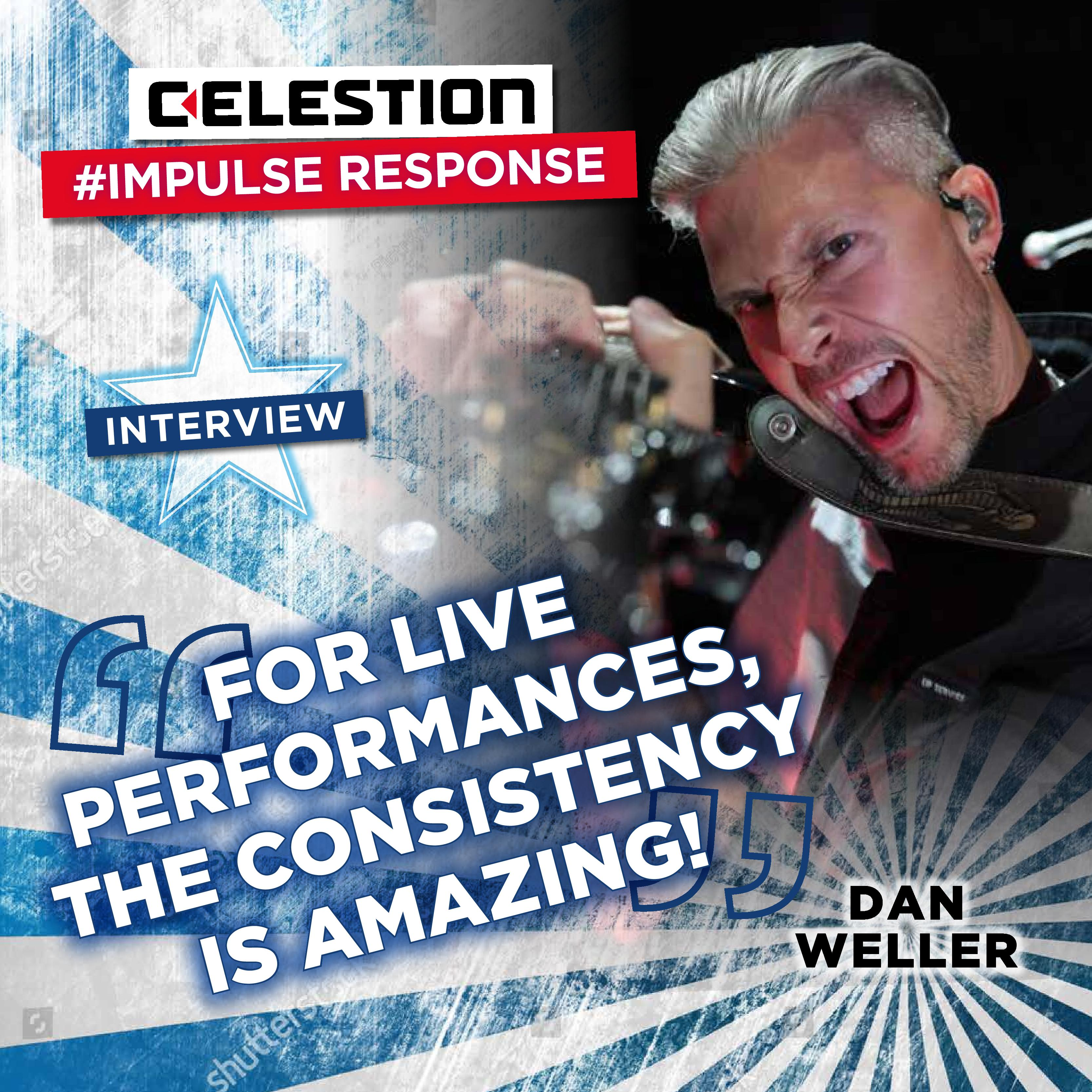 Celestion Impulse Responses – The Dan Weller Interview
