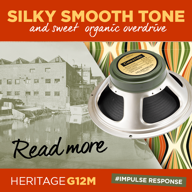 Celestion Heritage G12M Speaker IR – Silky Smooth 60s 'Greenback' Tone