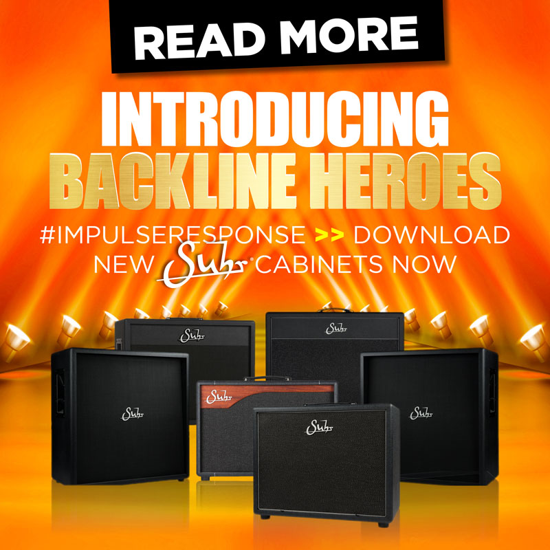 Suhr Cabinet Impulse Responses Are Here!