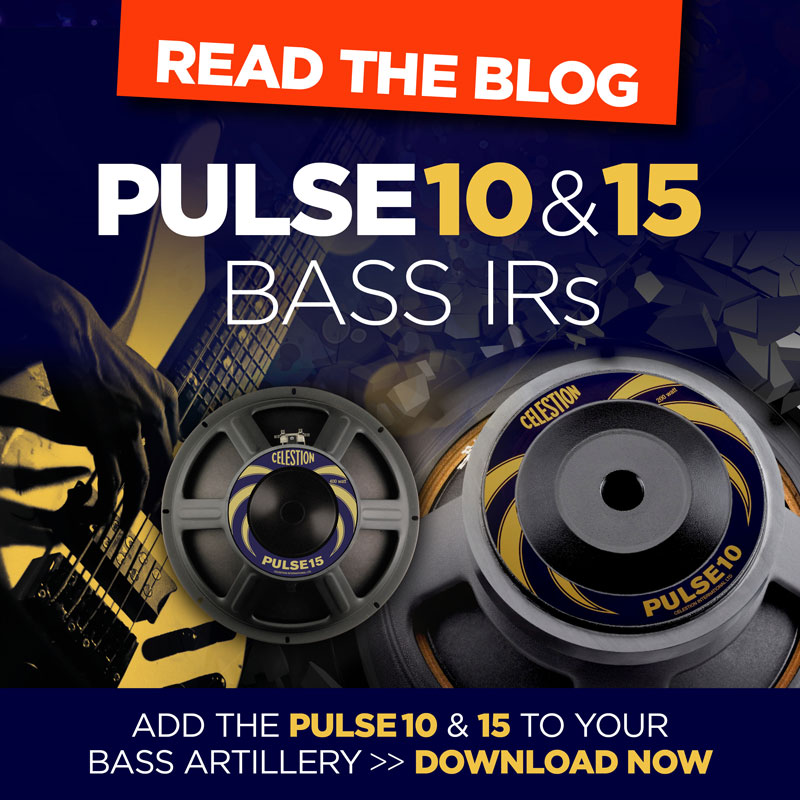 Bass Impulse Responses from Celestion Are Here!