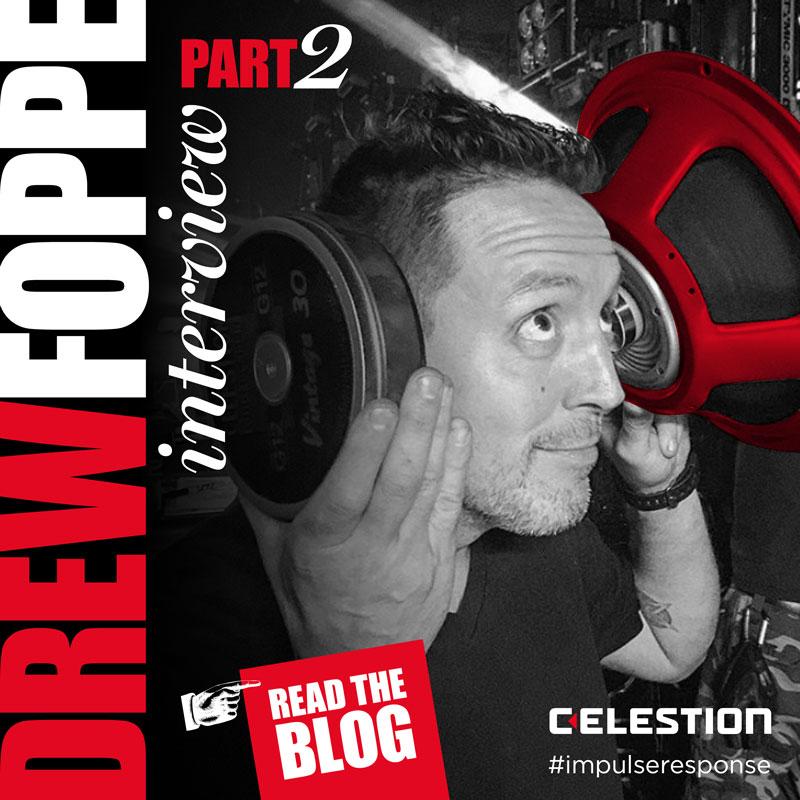 Drew Foppe, Guitar Tech Extraordinaire: Interview Part 2