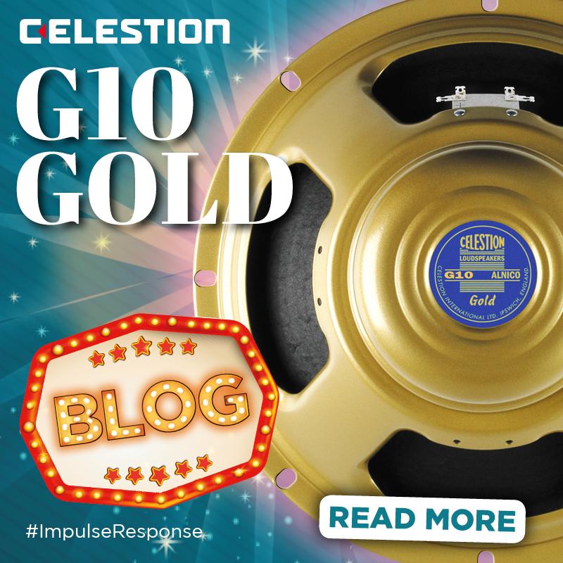 """Celestion G10 Gold Impulse Response – The Ultimate 10"""" Speaker IR"""