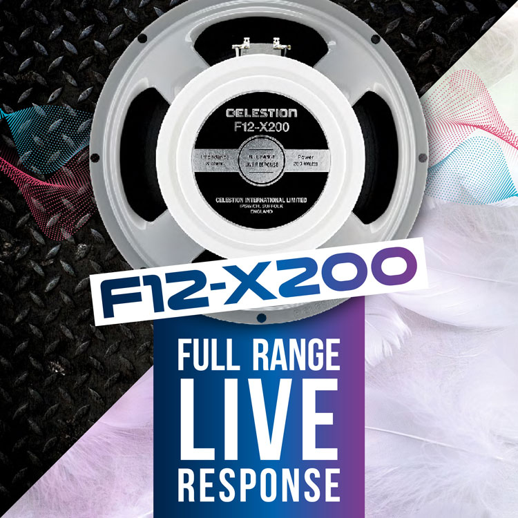 The Celestion F12-X200 – A Dedicated Guitar Speaker For Amp Modellers & IRs!