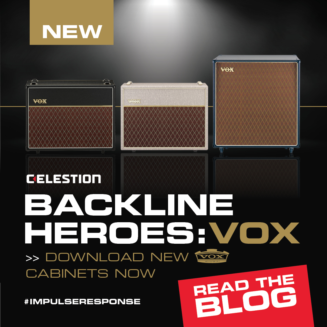 The Newest Addition to Our Backline Heroes Range is… VOX Amps!
