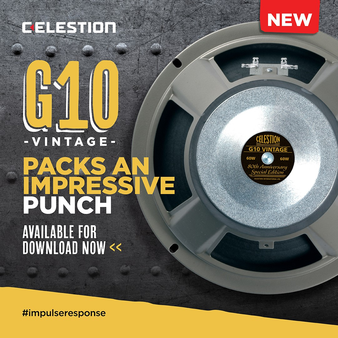 Celestion G10 Vintage Impulse Response – Attitude with Added Depth