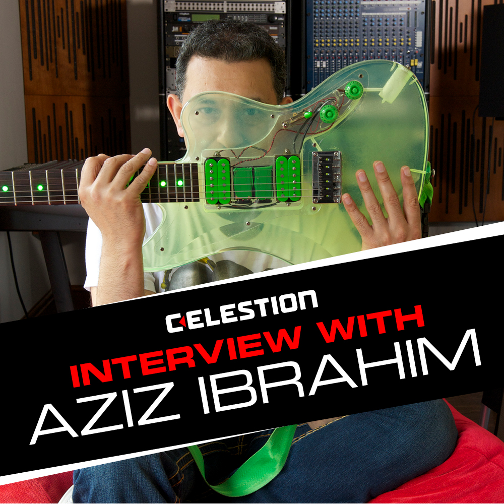 Aziz Ibrahim Celestion Interview