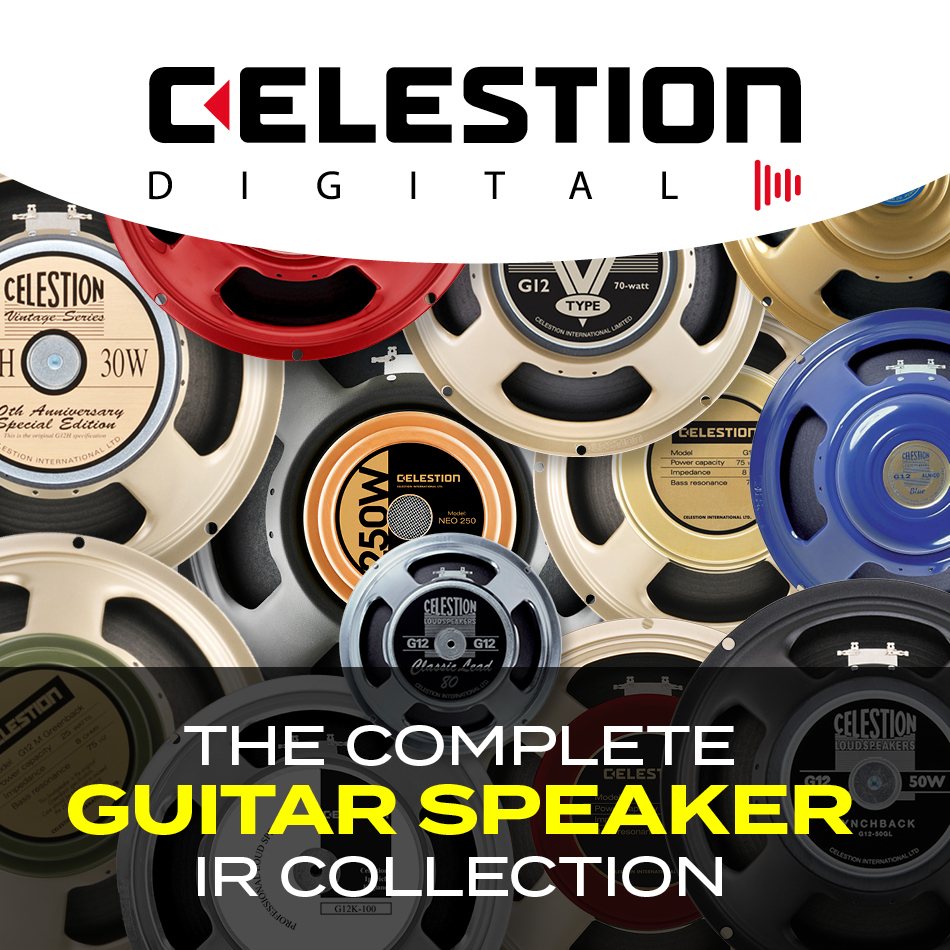 Celestion Complete Guitar Speaker IR Collection